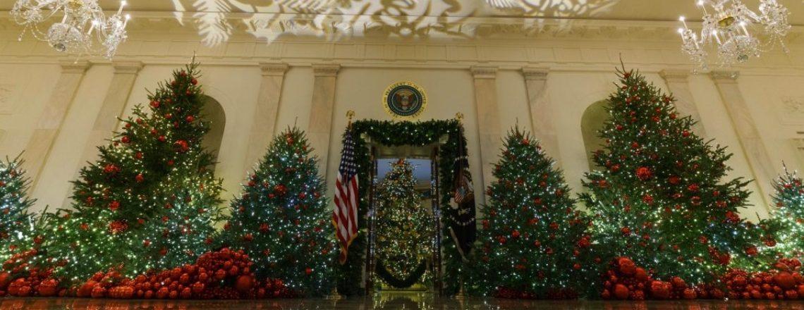 Holiday Magic Illuminates the White House