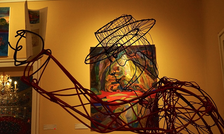 Скулптура Тихомир Тодоров, картина Силвия Павлова