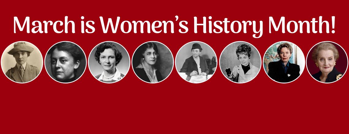 Март – Месец на историята на жените