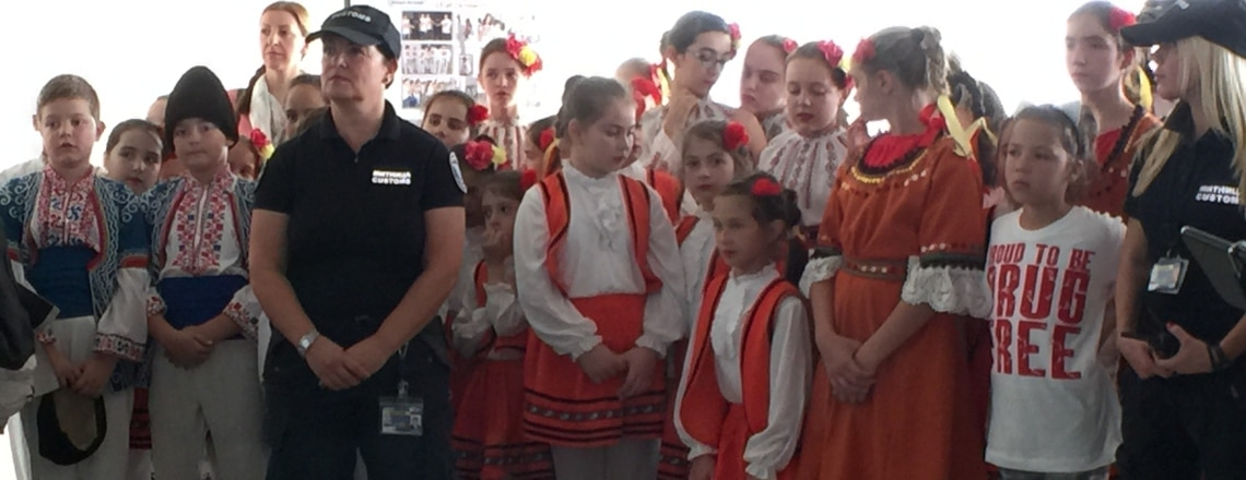 Red Ribbon Day at Sofia Airport